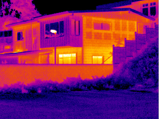 home IR FLIR thermal infrared outdoor image 8273