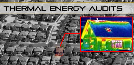 raz-ir thermal energy audit of a home
